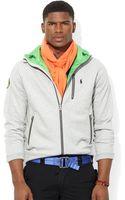 Polo Ralph Lauren Fleece Contrast Hoodie - Lyst