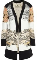 Etro Paisley Print Stretch Crepe Jacket - Lyst