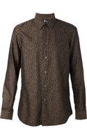 Paul Smith Cheetah Print Shirt - Lyst