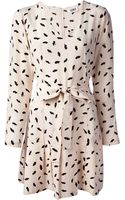 Sonia By Sonia Rykiel Lip Print Dress - Lyst