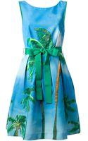 P.a.r.o.s.h. Palm Dress - Lyst