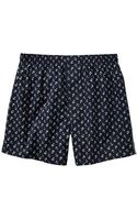 Gap Tossed Anchor Print Boxers - Lyst