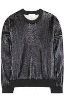 3.1 Phillip Lim Textured Sweater - Lyst
