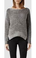 AllSaints Mesa Sweater - Lyst