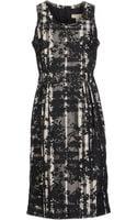 Burberry London Kneelength Dress - Lyst