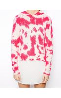 Asos Jumper in Tie Dye with Hood - Lyst