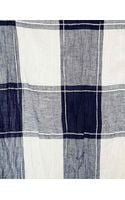 MiH Jeans Mih Giant Check Scarf - Lyst