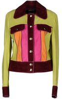 Moschino Cheap & Chic Leather Outerwear - Lyst