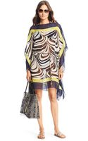 Diane von Furstenberg Dvf Murray Chiffon Cover Up Dress - Lyst