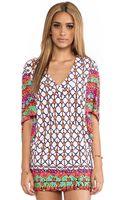 Trina Turk Venice Beach Tunic Cover Up - Lyst