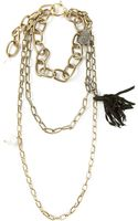 Lanvin Multichain Necklace - Lyst
