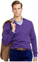 Polo Ralph Lauren Wool V-neck Sweater - Lyst