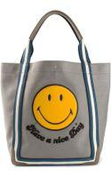 Anya Hindmarch Smiley Pont Tote Bag - Lyst