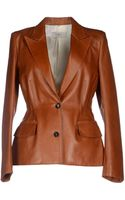 Jean Paul Gaultier Leather Outerwear - Lyst