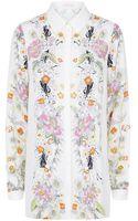 Matthew Williamson Wild Botanical Silk Shirt - Lyst