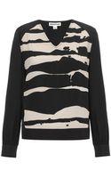 Whistles Ink Blot Print Sweatshirt - Lyst