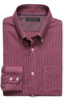 Banana Republic Tailored Slim-fit Non-iron Micro-houndstooth Button-down Shirt - Lyst