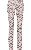 Etoile Isabel Marant Iit Printed Finecorduroy Skinny Jeans - Lyst
