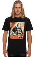 Obey Awareness Rip Mca Basic Tee - Lyst