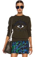 Kenzo Eye Cotton Sweatshirt - Lyst