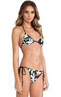 Clover Canyon Floral Discs Bikini - Lyst