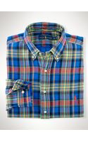 Polo Ralph Lauren Plaid Double-faced Shirt - Lyst
