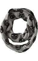 Autumn Cashmere Skull Infinity Scarf - Lyst