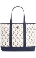 Tommy Hilfiger Th Totes Canvas Large Tote - Lyst