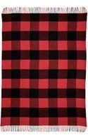 C. Wonder Buffalo Check Throw Blanket - Lipstickblack - Lyst