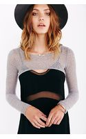 Silence + Noise Silence  Noise Cozy Knit Harness Top - Lyst