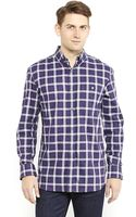 French Connection Plaid Button-down Shirt - Lyst