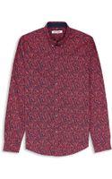 Ben Sherman Paisley Print Sport Shirt - Lyst