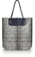 Alexander Wang Prisma Lizardeffect Leather Tote - Lyst