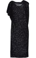 Donna Karan New York Kneelength Dress - Lyst