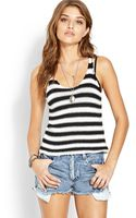 Forever 21 Tomboy Rugby Stripe Tank - Lyst