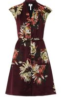Erdem Hanny Pergamum Gardenprint Silk Dress - Lyst