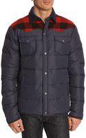 Penfield Rockford Blue Down Jacket - Lyst