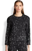 Narciso Rodriguez Jacquard Top - Lyst