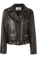 Acne Studios Biker Jacket - Lyst