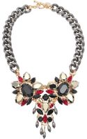 Anton Heunis Triple Crystal Exclusive Necklace - Lyst