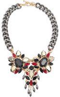 Anton Heunis Triple Crystal Exclusive Necklace - Lyst
