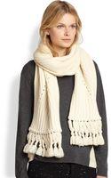 Rag & Bone Cece Merino Wool Scarf - Lyst