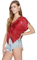 Nasty Gal Super Fly Top - Lyst