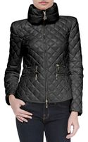 Moncler Diamond Quilted Short Zip Jacket - Lyst