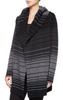 Vince Striped Blanket Sweater Jacket - Lyst