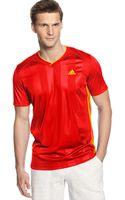 Adidas Soccer Shirt Vneck Soccer Jersey - Lyst
