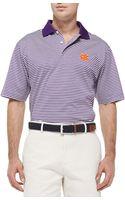 Peter Millar Clemson Gameday College Polo Shirt - Lyst
