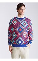 21men Tribal Print Sweatshirt - Lyst