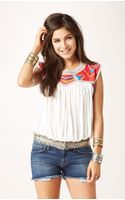 Free People Tribal Disco Tee - Lyst