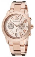 Michael Kors Mens Mercer Chronograph Rose Gold Dial Rose Gold Tone Stainless Steel Mkors Watch - Lyst